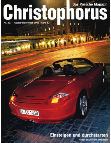 2002 PORSCHE CHRISTOPHORUS MAGAZINE 297 GERMAN