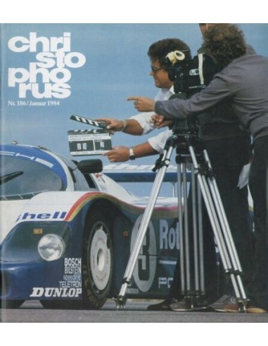 1984 PORSCHE CHRISTOPHORUS MAGAZINE 186 GERMAN