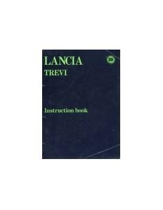 1980 LANCIA TREVI INSTRUCTIEBOEKJE ENGELS