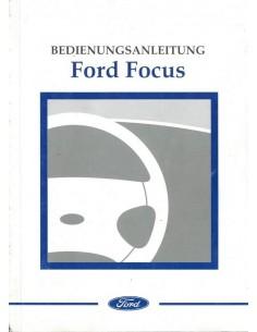2002 FORD FOCUS INSTRUCTIEBOEKJE DUITS