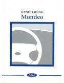 2001 FORD MONDEO INSTRUCTIEBOEKJE NEDERLANDS