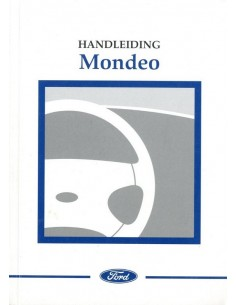 2001 FORD MONDEO OWNERS MANUAL HANDBOOK DUTCH
