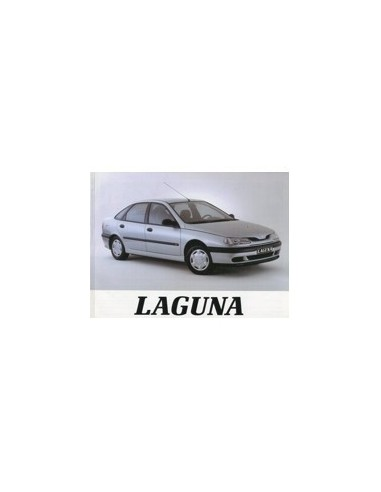 1994 RENAULT LAGUNA INSTRUCTIEBOEKJE NEDERLANDS