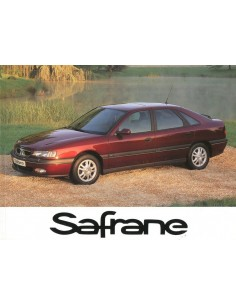 1996 RENAULT SAFRANE OWNER'S MANUAL DUTCH