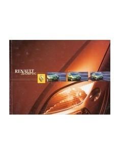 2001 RENAULT MEGANE SCENIC OWNERS MANUAL HANDBOOK DUTCH
