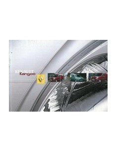 2004 RENAULT KANGOO INSTRUCTIEBOEKJE NEDERLANDS