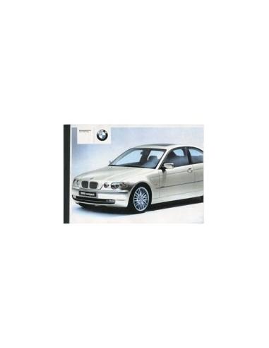 2001 BMW 3 SERIE COMPACT INSTRUCTIEBOEKJE DUITS