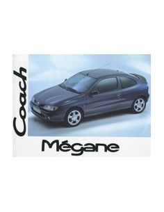 1995 RENAULT MEGANE OWNERS MANUAL HANDBOOK GERMAN