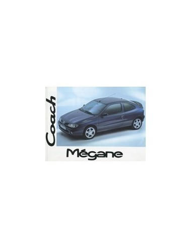 1996 RENAULT MEGANE COUPE INSTRUCTIEBOEKJE NEDERLANDS