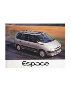 1996 RENAULT ESPACE INSTRUCTIEBOEKJE DUITS