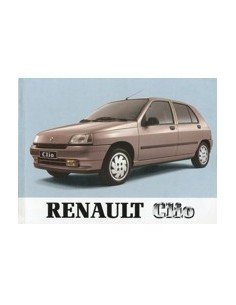 1993 RENAULT CLIO OWNERS MANUAL HANDBOOK DUTCH