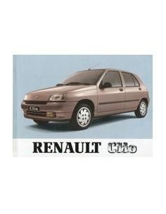 1992 RENAULT CLIO INSTRUCTIEBOEKJE NEDERLANDS