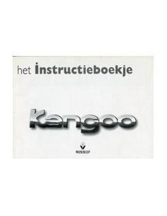 1999 RENAULT KANGOO INSTRUCTIEBOEKJE NEDERLANDS