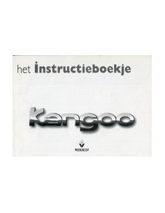 1999 RENAULT KANGOO OWNERS MANUAL HANDBOOK DUTCH