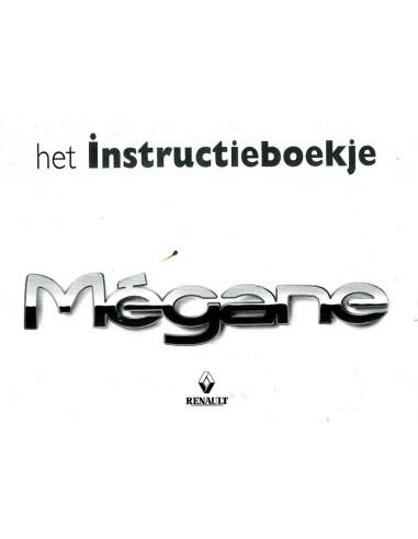 1999 RENAULT MEGANE INSTRUCTIEBOEKJE NEDERLANDS