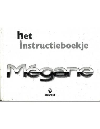 1998 RENAULT MEGANE INSTRUCTIEBOEKJE NEDERLANDS