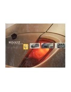 2001 RENAULT ESPACE INSTRUCTIEBOEKJE FRANS