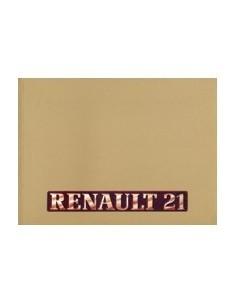 1987 RENAULT 21 INSTRUCTIEBOEKJE DUITS