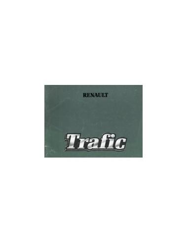 1982 RENAULT TRAFIC INSTRUCTIEBOEKJE NEDERLANDS