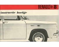 1968 renault 8 owners manual handbook dutch automotive literature rh autolit eu Renault Trezor Renault R9
