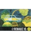 1973 RENAULT 6 INSTRUCTIEBOEKJE NEDERLANDS