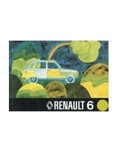 1974 RENAULT 6 INSTRUCTIEBOEKJE NEDERLANDS