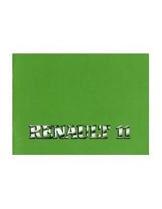 1987 RENAULT 11 INSTRUCTIEBOEKJE NEDERLANDS