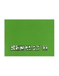1983 RENAULT 11 INSTRUCTIEBOEKJE DUITS