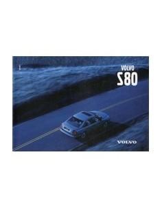 1999 VOLVO S80 INSTRUCTIEBOEKJE ENGELS