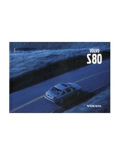 1999 VOLVO S60 OWNERS MANUAL HANDBOOK ENGLISH