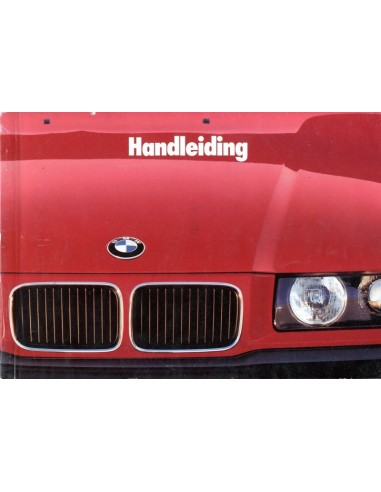 1993 BMW 3 SERIE INSTRUCTIEBOEKJE NEDERLANDS