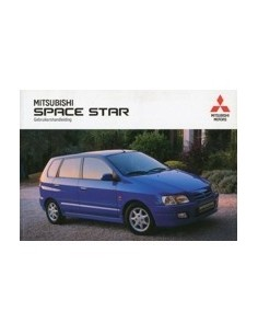 1998 MITSUBISHI SPACE STAR INSTRUCTIEBOEKJE NEDERLANDS