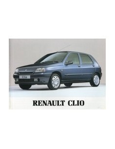1994 RENAULT CLIO INSTRUCTIEBOEKJE NEDERLANDS