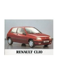 1995 RENAULT CLIO OWNERS MANUAL HANDBOOK DUTCH
