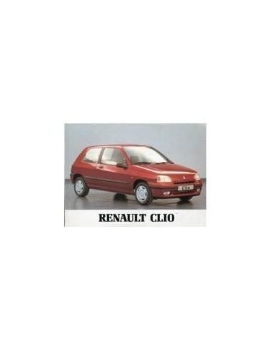 1995 RENAULT CLIO INSTRUCTIEBOEKJE NEDERLANDS