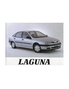 1994 RENAULT LAGUNA INSTRUCTIEBOEKJE NEDERLANDS