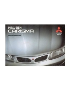 1997 MITSUBISHI CARISMA INSTRUCTIEBOEKJE NEDERLANDS