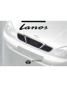 1997 DAEWOO LANOS OWNER'S MANUAL DUTCH