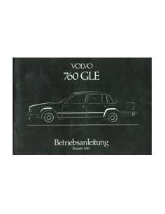 1983 VOLVO 760 GLE OWNERS MANUAL HANDBOOK GERMAN