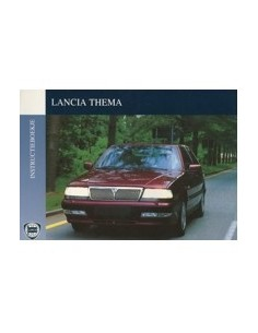 1992 LANCIA THEMA INSTRUCTIEBOEKJE NEDERLANDS
