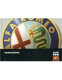 1997 ALFA ROMEO 156 INSTRUCTIEBOEKJE NEDERLANDS