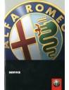 1999 ALFA ROMEO SERVICE HANDBOOK