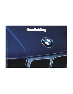 1989 BMW 5 SERIES OWNERS MANUAL HANDBOOK DUTCH