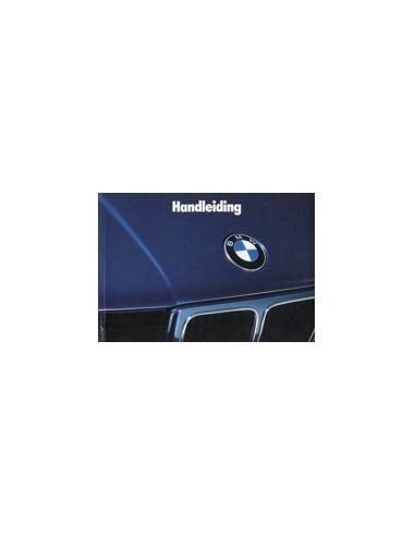 1989 BMW 5 SERIE INSTRUCTIEBOEKJE NEDERLANDS