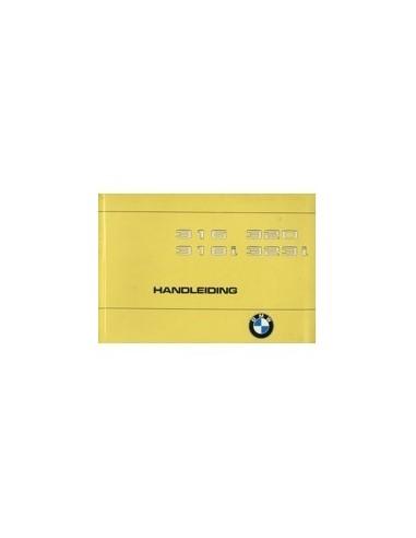 1980 BMW 3 SERIE INSTRUCTIEBOEKJE NEDERLANDS