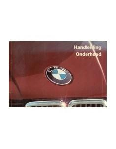 1985 BMW 3 SERIES OWNERS MANUAL HANDBOOK DUTCH
