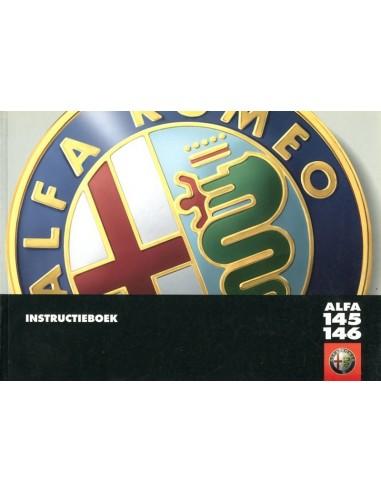 1999 ALFA ROMEO 145 & 146 INSTRUCTIEBOEKJE NEDERLANDS