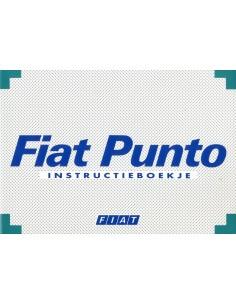 1995 FIAT PUNTO OWNER'S MANUAL DUTCH