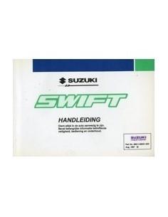 1997 SUZUKI SWIFT OWNERS MANUAL HANDBOOK DUTCH