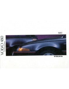 1989 VOLVO 480 OWNER'S MANUAL DUTCH